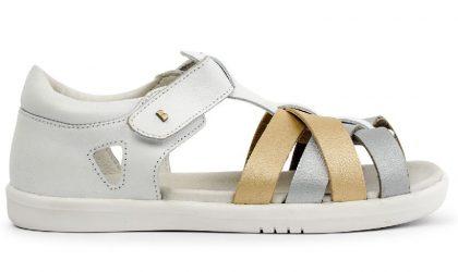 White + Gold + Silver