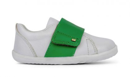 white + emerald